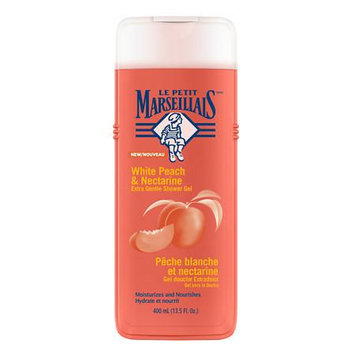 Le Petit Marseillais Extra Gentle Shower Gel White Peach & Nectarine