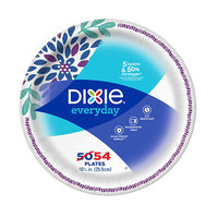 Dixie Everyday Family Pack Plates 10.125 inch - 54 ea