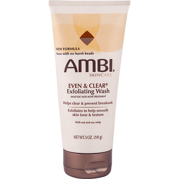 Ambi Skincare Even & Clear Exfoliating Wash, 5 oz
