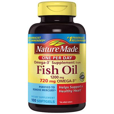 Nature Made Fish Oil 1200 mg Softgels - 100 ea