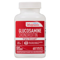 Walgreens Red Glucosamine Chondroitin Triple Strength - 60 ea