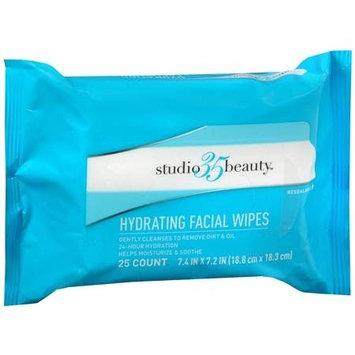 Studio 35 Beauty Hydrating Facial Wipes - 25 ea
