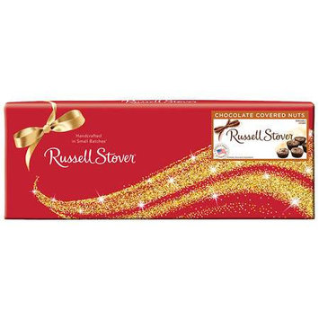 Russell Stover Candies Russell Stover Chocolate Covered Nuts Box, 10oz