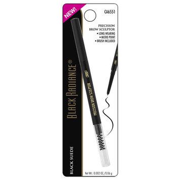 Black Radiance Precision Eyeliner & Brow Sculptor Black Suede0.008 oz