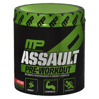 MusclePharm Assault Pre-Workout Powder 30 Servings Fruit Punch - 12.8 oz.