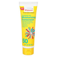 Walgreens Sunscreen Moisturizing Lotion SPF 50 Tube - 3 oz.