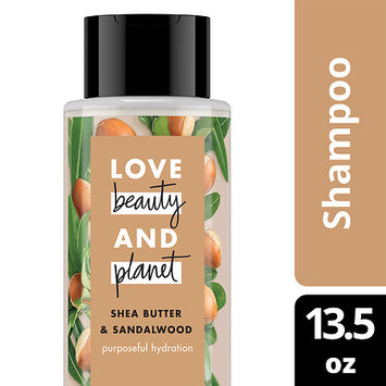 Love Beauty and Planet Shea Butter and Sandalwood Purposeful Hydration Shampoo 13.5 oz
