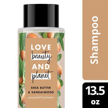 Love Beauty and Planet Shea Butter and Sandalwood Purposeful Hydration Shampoo 13.5 oz