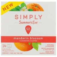 Simply Summer's Eve Mandarin Blossom Feminine Wipe - 14ct, None - Dnu