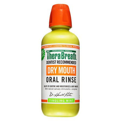 TheraBreath Dry Mouth Oral Rinse - 16 oz.