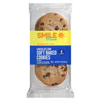 Smile & Save Soft Baked Cookies Chocolate Chip, Chocolate Chip - 7.1 oz.