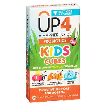 UP4 Probiotics Kids Soft Chews Vanilla - 40ct