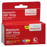 Walgreens Melatonin Quick Gels - 50 ea