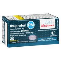 Walgreens Ibuprofen PM Softgels - 20 ea