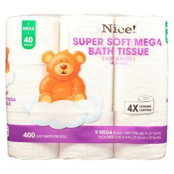 N'ice Nice! Mega Soft & Plush Bath Tissue - 400 sh
