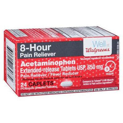 Walgreens 8 Hour Pain Relief Capsules - 24 ea
