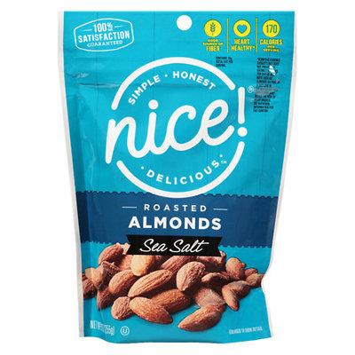 N'ice Nice! Roasted Salted Almonds - 9 oz.