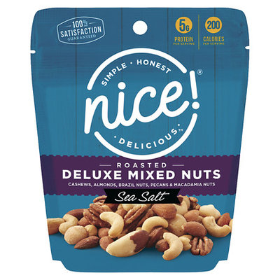 N'ice Nice! Deluxe Mixed Nuts Roasted Salted - 8.75 oz.