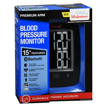 Walgreens Premium Arm Blood Pressure Monitor 2016 - 1 ea