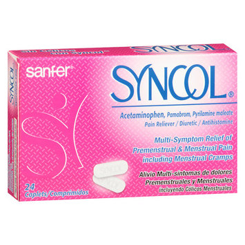 Syncol Menstrual Pain Treatment Caps - 24 ea