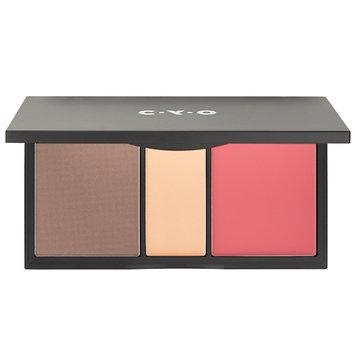 Cyo C.Y.O. Contour Highlight & Blush Palette Colour Sculpt - 1 ea