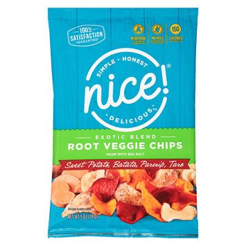 N'ice Nice! Exotic Blend Root Vegetable Chips - 5 oz.