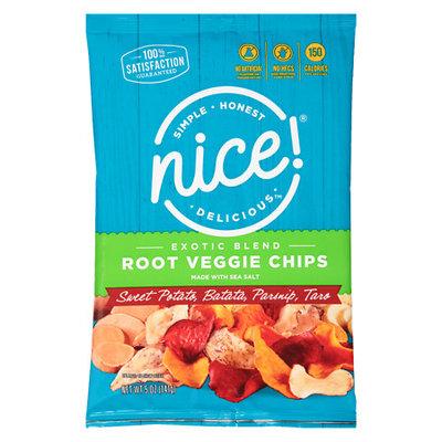 N'ice Nice! Exotic Blend Root Vegetable Chips - 5 oz.