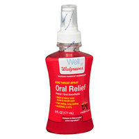 Walgreens Oral Relief Spray Cherry - 6 fl oz