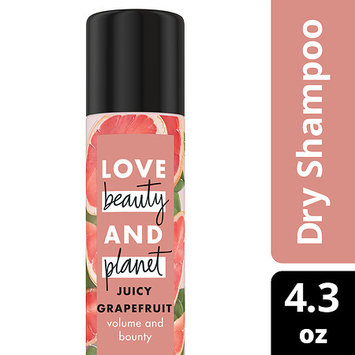 Love Beauty and Planet Juicy Grapefruit Volume and Bounty Dry Shampoo 4.3 oz