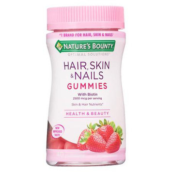 Nature's Bounty Hair, Skin & Nails Gummies