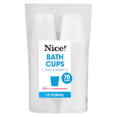 N'ice Nice! Bath Cups 3 oz - 70 ea