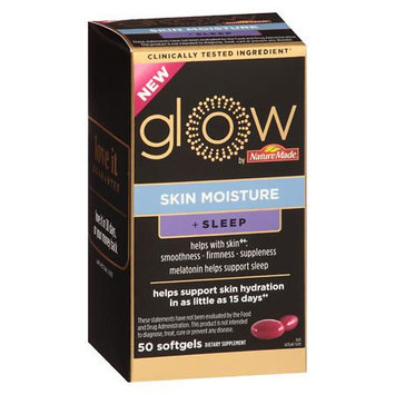 Nature Made Glow by NM Skin Moisture + Sleep Softgels - 50ct