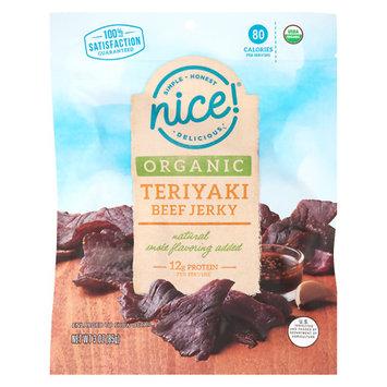 N'ice Nice! Organic Beef Jerky Teriyaki - 3 oz.