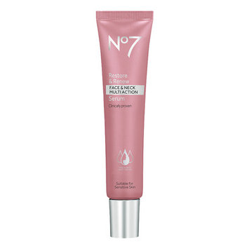 No7 Restore & Renew Face & Neck MULTI ACTION Serum 50ml