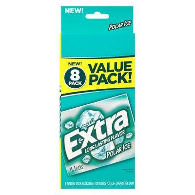 Extra Polar Ice Sugar Free Gum, 14 pc, 8 count
