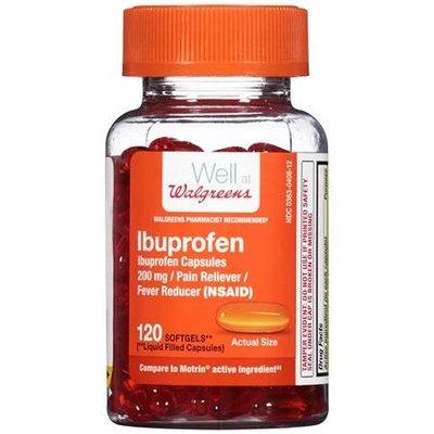 Walgreens Ibuprofen Softgels - 120 ea