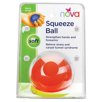 Nova Exercise Squeeze Ball - Soft/Orange