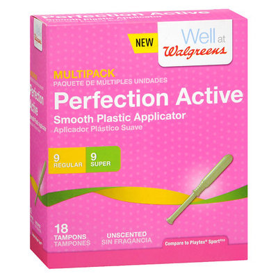 Walgreens Perfection Active Tampons Multi-Pack - 18 ea