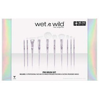 Wet N Wild Luxe Brush Collection - 10 PC