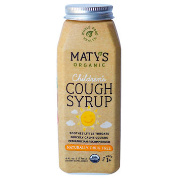 Maty's Organic Children's Cough Syrup, 6 Fl Oz