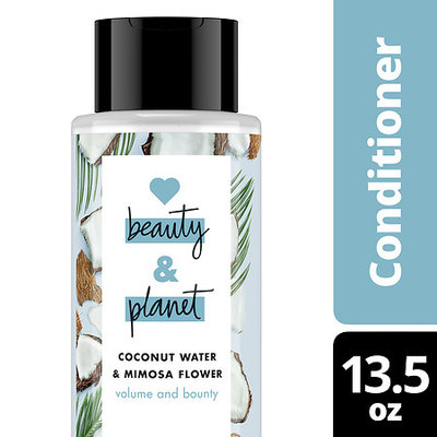 Love Beauty and Planet Coconut Water and Mimosa Flower Volume and Bounty Conditioner