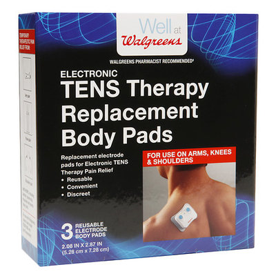 Walgreens TENS Electrode Replacement Pads - 3 ea