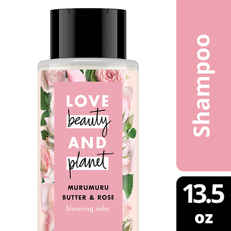Love, Beauty & Planet Blooming Color Shampoo Murumuru Butter & Rose - 13.5 oz.