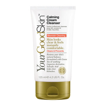 YourGoodSkin Acne Clearing Calming Cream Cleanser Single Count - 4.2 oz.