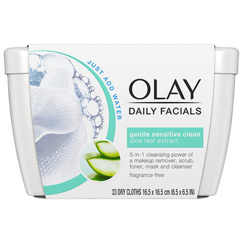 Olay Daily Facial Sensitive Cleansing Cloths