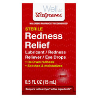 Walgreens Redness Relief Eye Drops - 0.5 oz.