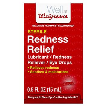 Walgreens Redness Relief Eye Drops - 0.5 oz.