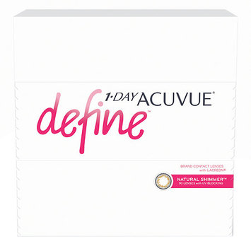 1-Day Acuvue Define 90Pk, Natural Shimmer - Contact Lens