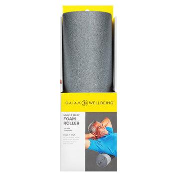 Gaiam Wellbeing Muscle Relief Foam Roller Semi-Firm 18 Inch X 6 Inch - 1 ea