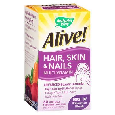 Nature's Way Hair Skin and Nails Multivitamins